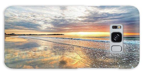 Hampton Beach Sunrise Hampton Beach State Park Hampton Nh Reflection Galaxy Case