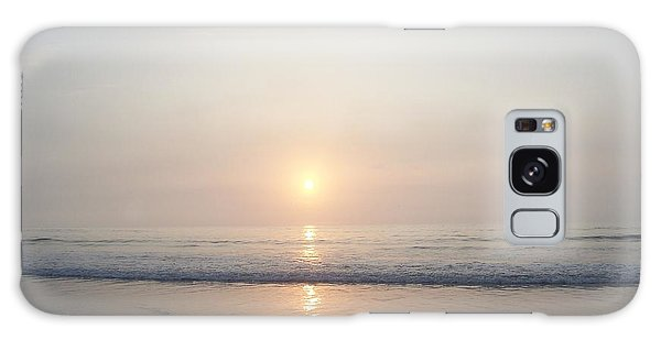 Hampton Beach Sunrise Galaxy Case by Eunice Miller