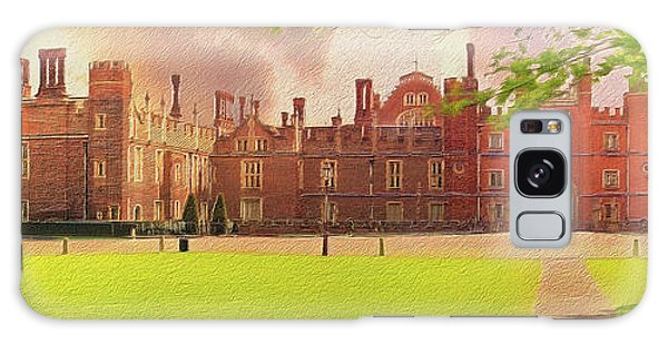 Hampton Court Palace Panorama Galaxy Case