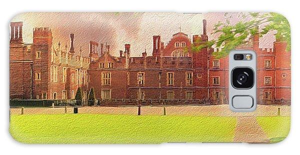Hampton Court Palace Panorama Galaxy Case