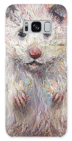 Hamster Painting  Galaxy Case