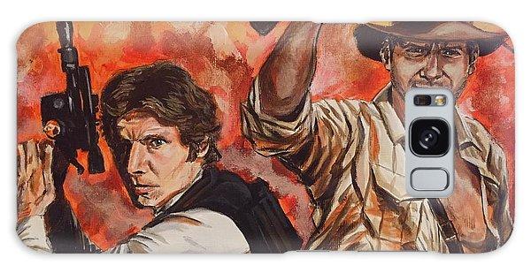 Han Solo And Indiana Jones Galaxy Case