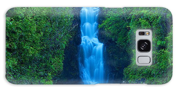 Hana Waterfall Galaxy Case