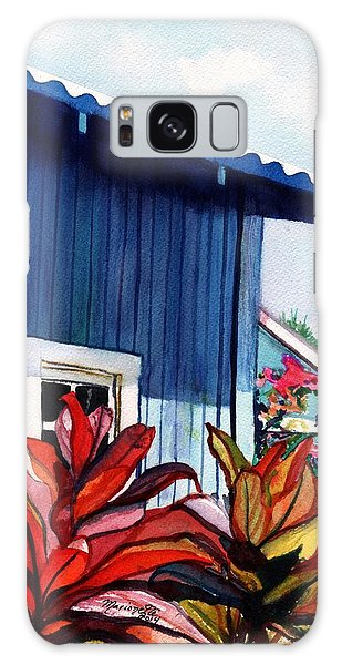 Hanapepe Town Galaxy Case by Marionette Taboniar