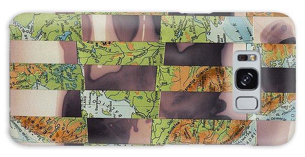 Hand Collage 2 Galaxy Case