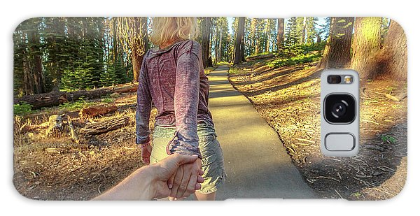 Hand In Hand Sequoia Hiking Galaxy Case