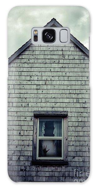 House Galaxy Case - Hand In The Window by Edward Fielding