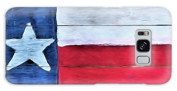 Hand Painted Texas Flag Galaxy Case