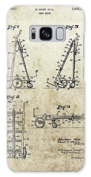 Old Truck Galaxy Case - Hand Truck Patent by Dan Sproul