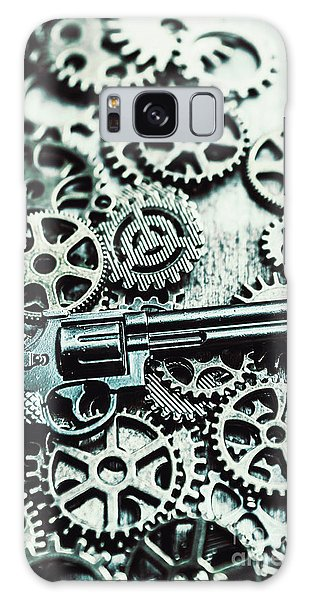 Metal Galaxy Case - Handguns And Gears by Jorgo Photography - Wall Art Gallery
