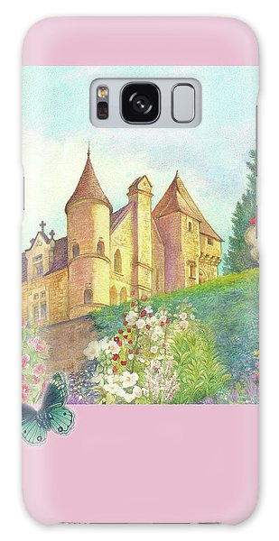 Handpainted Romantic Chateau Summer Garden Galaxy Case