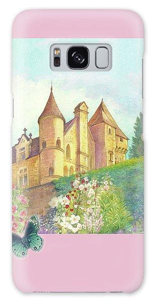 Handpainted Romantic Chateau Summer Garden Galaxy Case