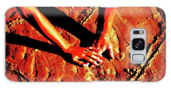 Hands In Love Galaxy Case