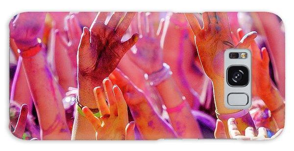 Hands Up-2 Galaxy Case