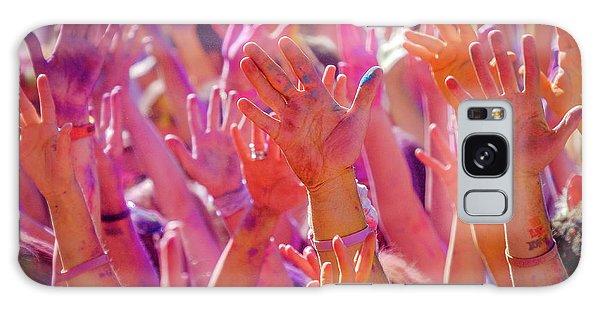 Hands Up Galaxy Case