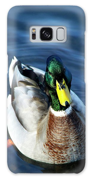 Handsome Male Mallard Galaxy Case