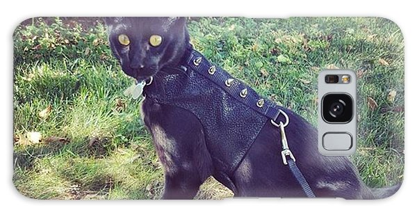 Steampunk Galaxy Case - Handsome Man Striking A Pose by Sirius Black Adventure Cat