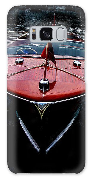Handsome Wooden Boat Galaxy Case