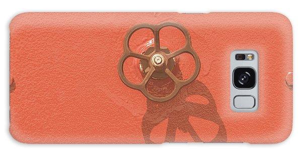 Handwheel - Orange Galaxy Case