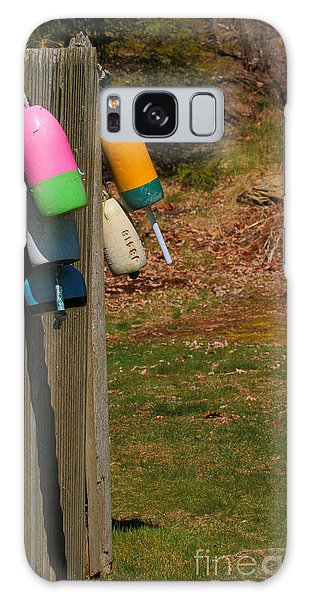 Galaxy Case featuring the photograph Hanging Buoys by Debbie Stahre