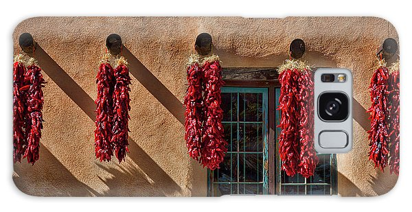 Hanging Chili Ristras - Taos Galaxy Case