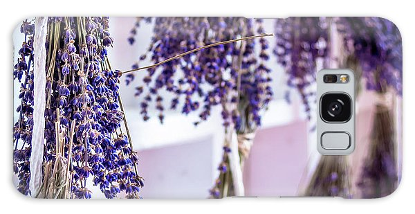 Hanging Lavender Galaxy Case
