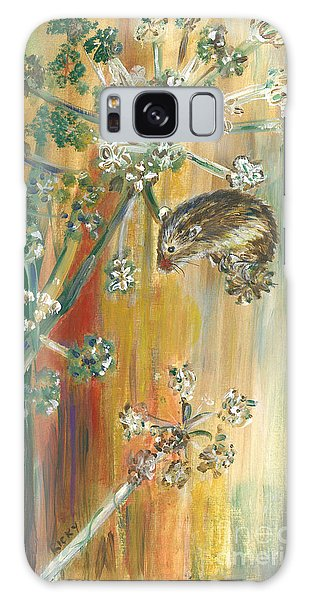 Hanging On - Painting Galaxy Case by Veronica Rickard
