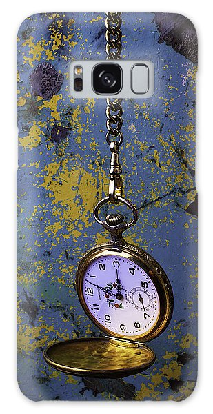 Rusty Chain Galaxy Case - Hanging Watch by Garry Gay