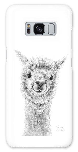 Llama Galaxy S8 Case - Hannah by K Llamas