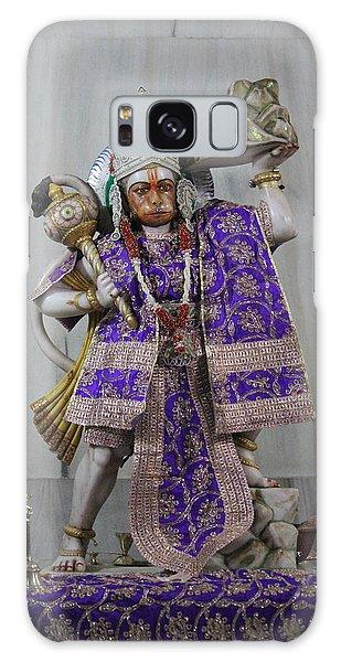 Hanuman Ji, Neem Karoli Baba, Vrindavan Galaxy Case by Jennifer Mazzucco