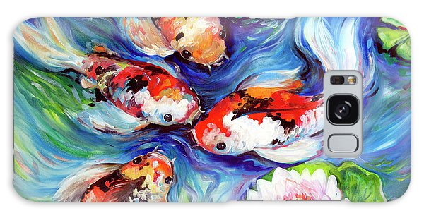 Happiness Koi Galaxy Case by Marcia Baldwin