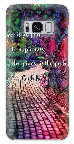 Happiness Path Galaxy Case