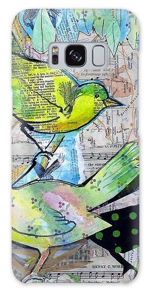 Happy Birds Galaxy Case