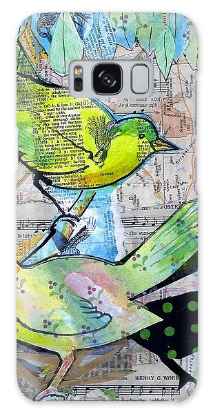 Happy Birds Galaxy Case