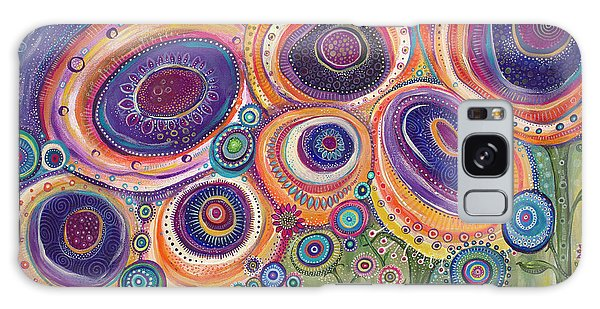Happy Dance Galaxy Case by Tanielle Childers