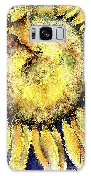 Happy Day Galaxy Case by Annette Berglund