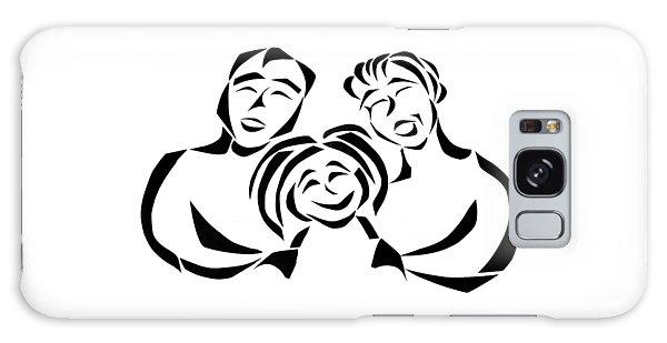 Happy Family Galaxy Case by Delin Colon