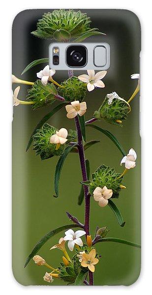 Happy Flowers Galaxy Case