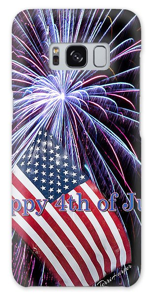 Happy Fourth Of July Galaxy Case