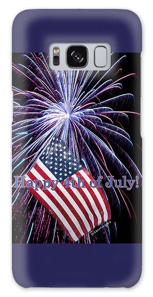 Happy Fourth Of July Galaxy Case
