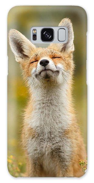 Happy Fox Galaxy Case