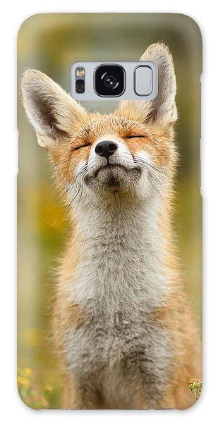 Dunes Galaxy Case - Happy Fox by Roeselien Raimond