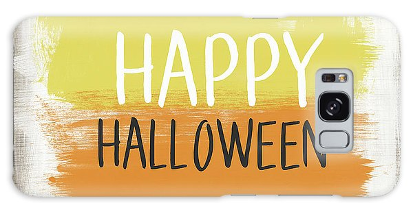 Country Living Galaxy Case - Happy Halloween Sign- Art By Linda Woods by Linda Woods