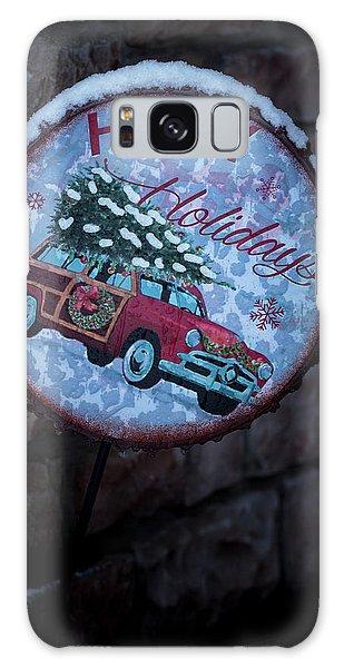 Happy Holidays Galaxy Case
