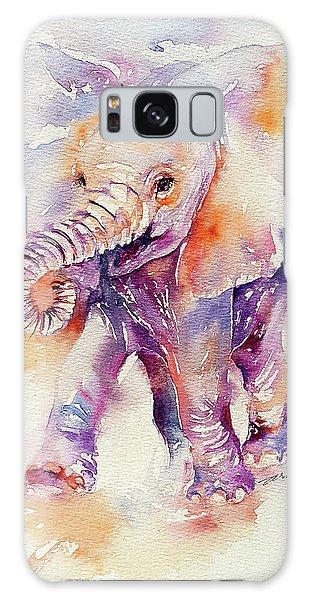 Happy Holly Baby Elephant Galaxy Case