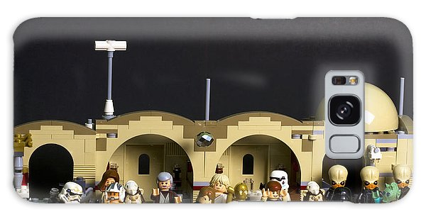 Mos Eisley Galaxy Case - Happy Hour At The Cantina by David Stasiak