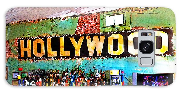 Happy Hour At The Hollywood Cafe Galaxy Case