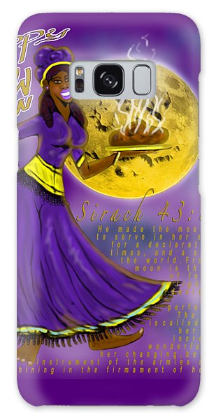 Happy New Moon Sirach 43 Galaxy Case