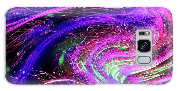 Happy New Year 2017 Galaxy Case by Barbara Tristan