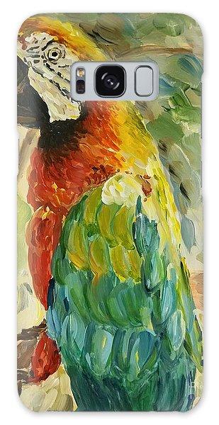 Happy Parrot Galaxy Case